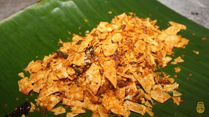 Web 2 Special Pappadam Thoran | Spicy Papad Stir Fry