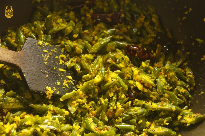 Web 2 Beans Thoran Beans Stir Fry Kerala Style Easy Vegetarian Side Dish